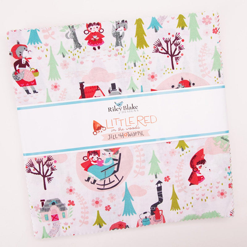 Little Red in the Woods Layer Cake from Little Red in the Woods Collection at Cherry Creek Fabric