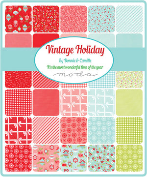 Pink Solid Fabric from Vintage Holiday Collection at Cherry Creek Fabric