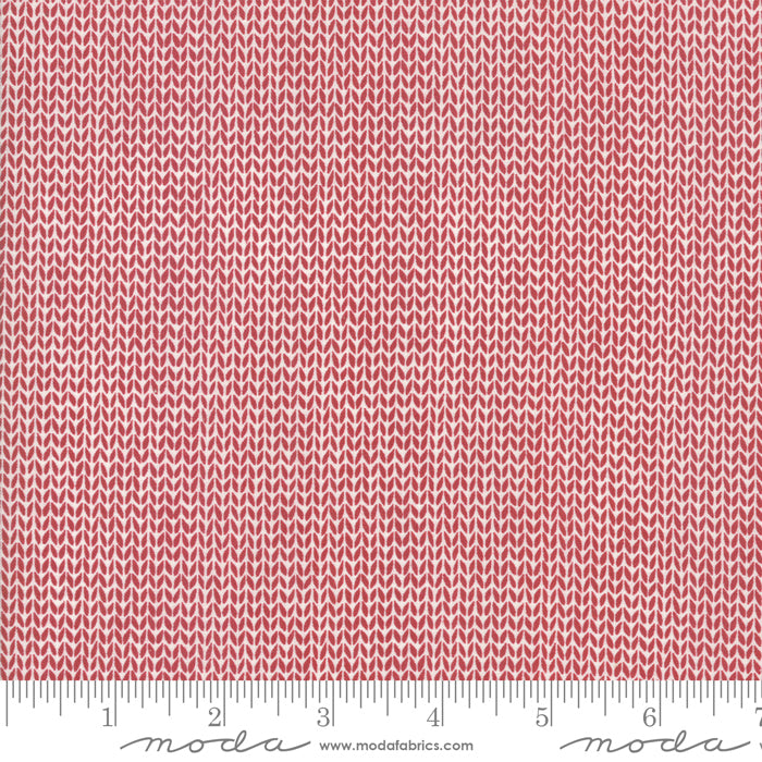 Merry Starts by Sweetwater | Red Sweater Weather Fabric from Merry Starts Here Collection at Cherry Creek Fabric