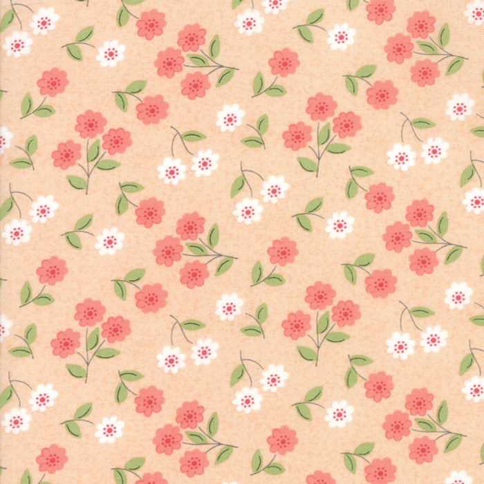 Peach Blossom Fabric from Nest Collection at Cherry Creek Fabric