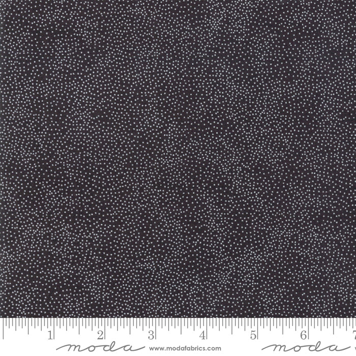 Merry Starts Here by Sweetwater | Black Starry Night Fabric