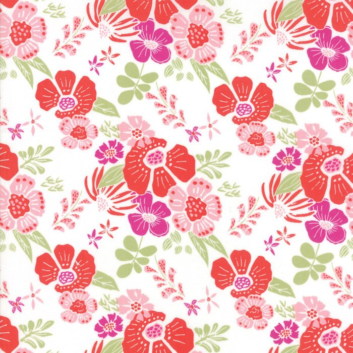 "Berry Melody Floral FabricEND OF BOLT 2 yd + 17"" from Bungalow Collection at Cherry Creek Fabric"