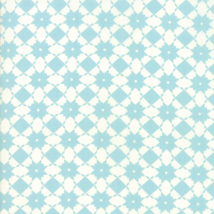 Light Blue Weave Fabric
