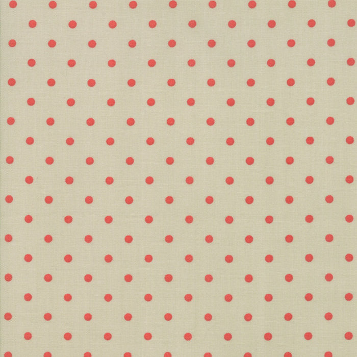 Green Dots Fabric from 101 Maple Hill Collection at Cherry Creek Fabric