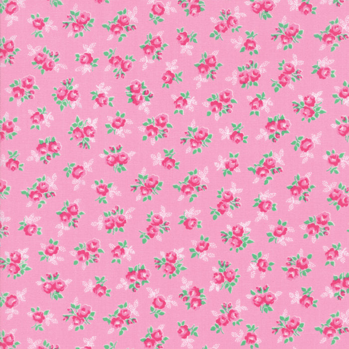 Pink Sweet Floral Fabric