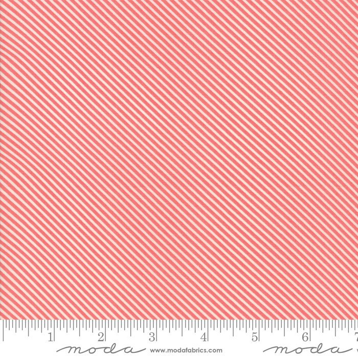 Pink Candy Stripes Fabric from Garden Variety Collection at Cherry Creek Fabric