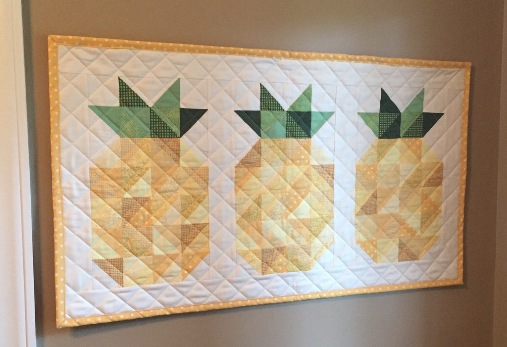 A Pineapple Welcome PDF Quilt Pattern