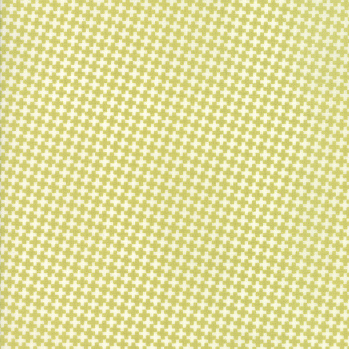 Green Mini Crisscross Fabric