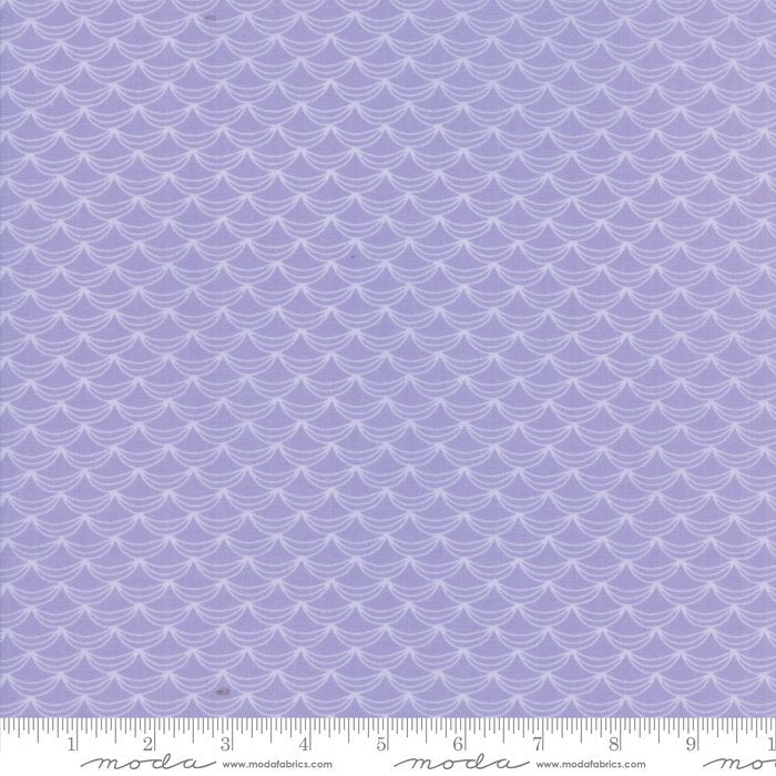 Lavendar Ruffles Fabric from Once Upon a Time Collection at Cherry Creek Fabric
