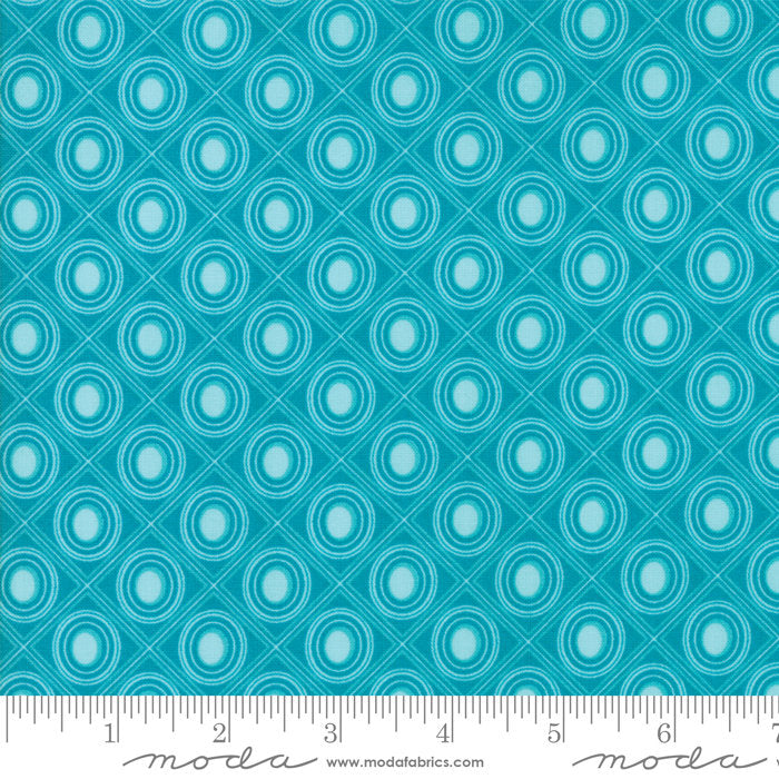 Turquoise Diamonds Fabric from Coledale Collection at Cherry Creek Fabric