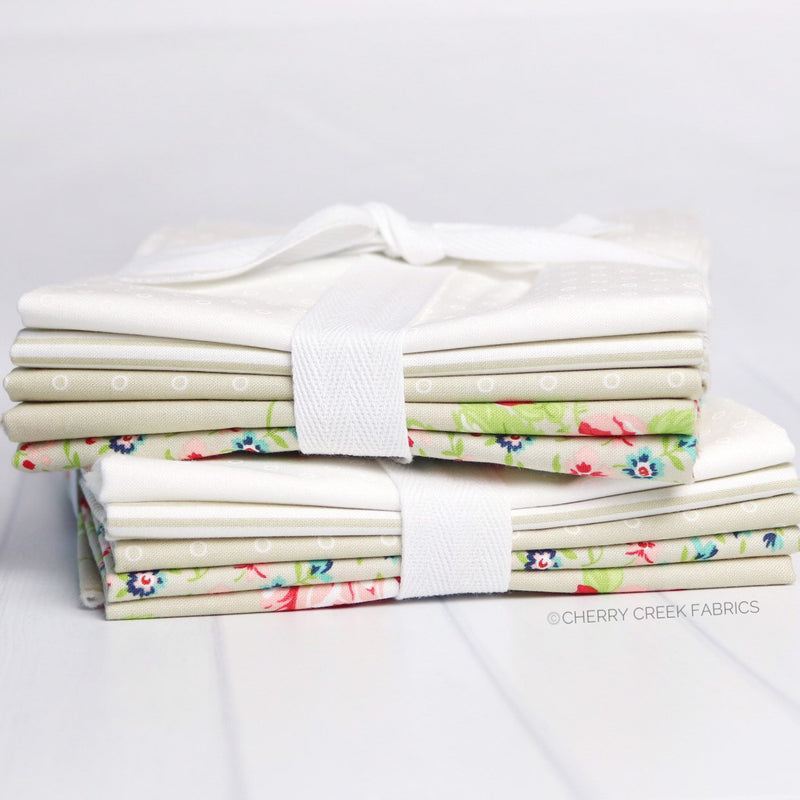 Smitten Tan Half Yard Bundle from Smitten Collection at Cherry Creek Fabric