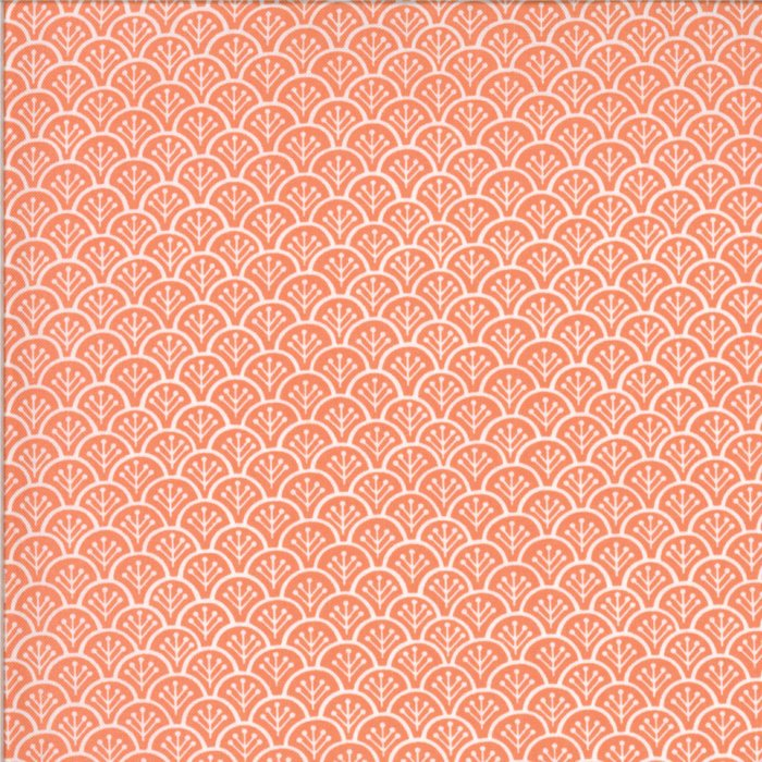 Pink Rolling Hills Fabric