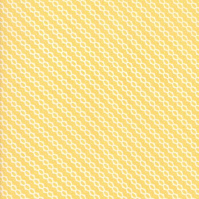 Strawberry Jam Fabric - Yellow Summer Stripe Fabric - Corey Yoder - Moda Fabric - Stripe Fabric - Binding Fabric - Fabric by the Yard from Cherry Creek Fabric & Crafts Collection at Cherry Creek Fabric