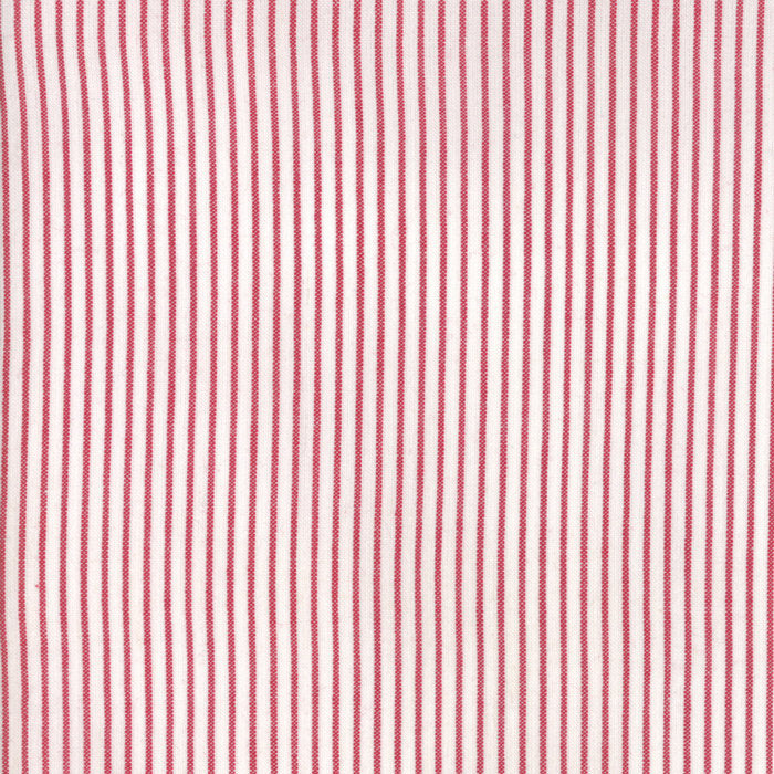 Red Stripe Woven Fabric