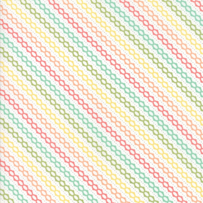 Strawberry Jam Fabric - Multi Summer Stripe Fabric - Corey Yoder - Moda Fabric - Stripe Fabric - Binding Fabric - Fabric by the Yard from Cherry Creek Fabric & Crafts Collection at Cherry Creek Fabric