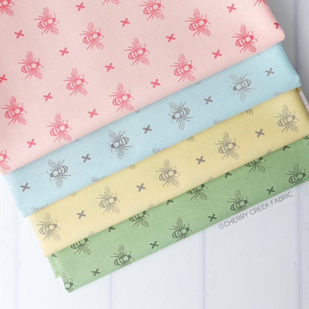 Garden Variety Bumblebee Half Yard Bundle - 4 pieces