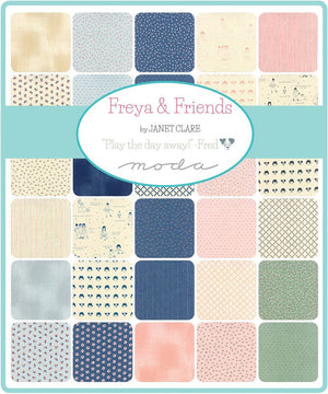 Freya & Friends Charm Pack from Freya & Friends Collection at Cherry Creek Fabric