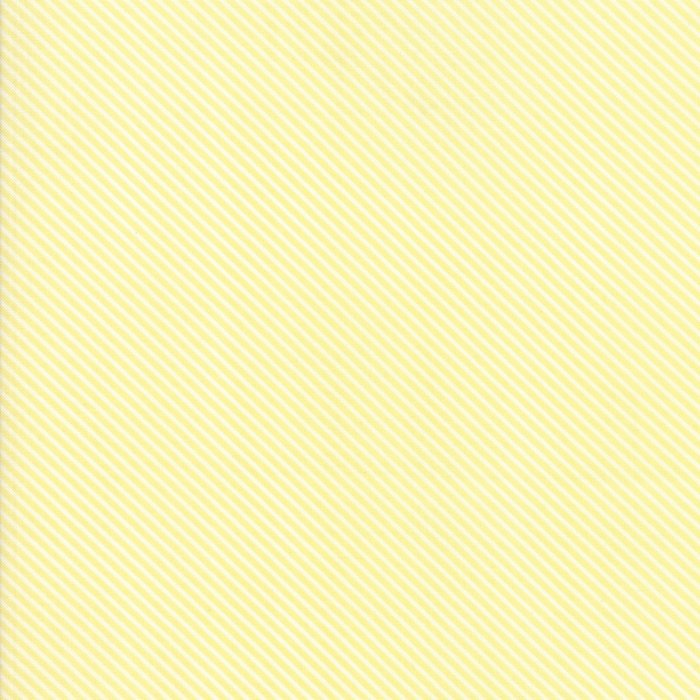 Yellow Candy Stripes Fabric