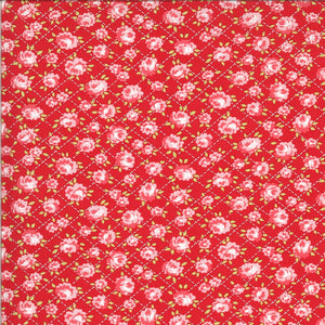 Red Roses Fabric | Shine On