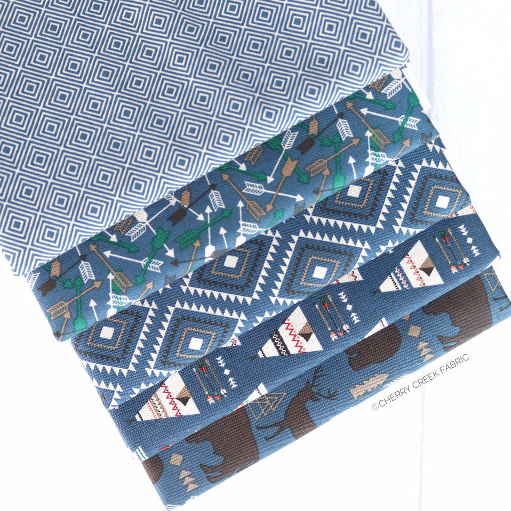 High Adventure 2 Blue One Yard Bundle