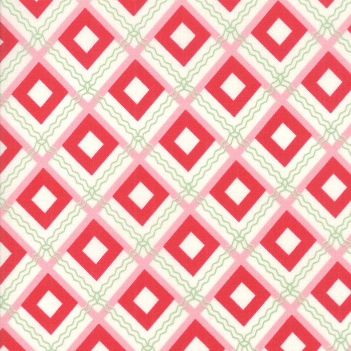 Sweet Christmas by Urban Chiks | Red Christmas Plaid Fabric