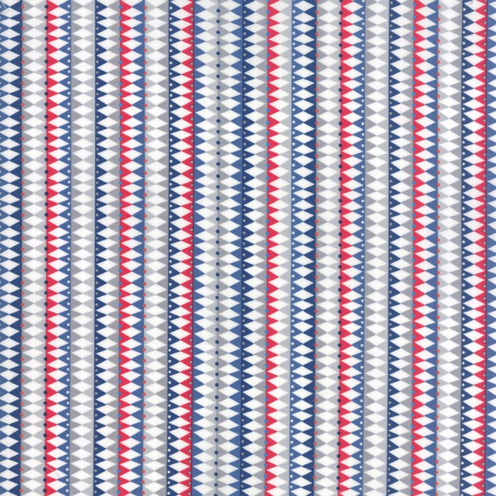 Galactic Stripes Blue Fabric from Stellar Baby Collection at Cherry Creek Fabric