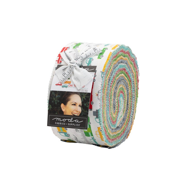 On the Go Jelly Roll - 40 pieces