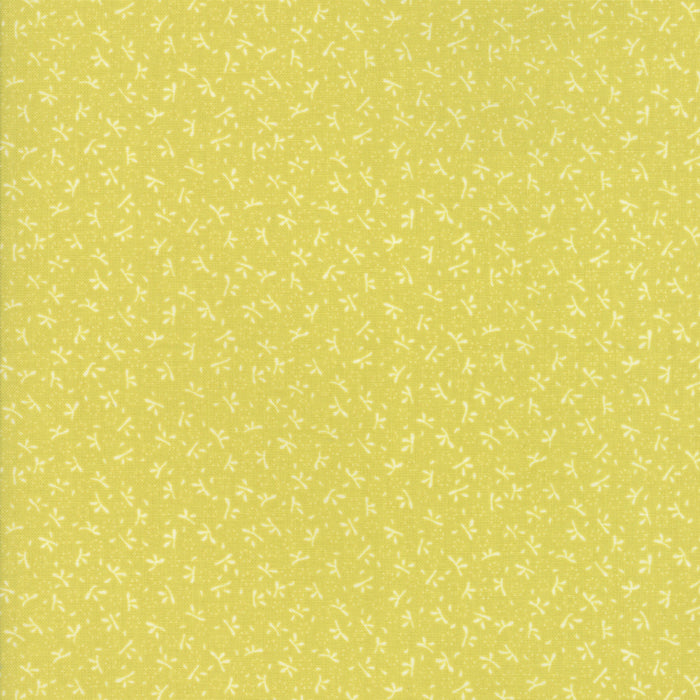 Light Green Turkey Tracks Fabric