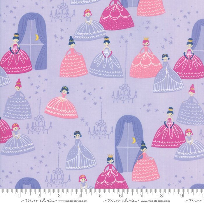 Lavendar Grand Ball Fabric from Once Upon a Time Collection at Cherry Creek Fabric