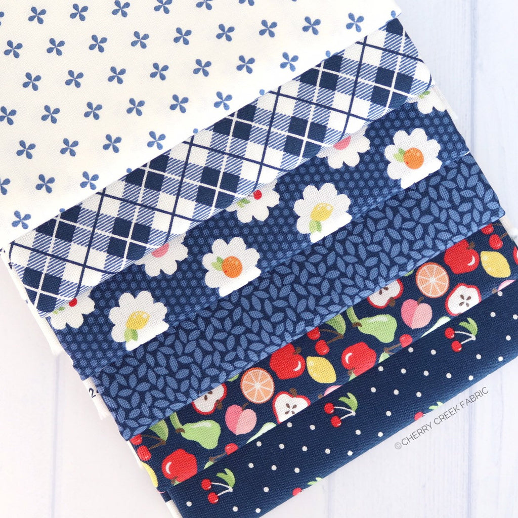 Orchard Blue One Yard Bundle