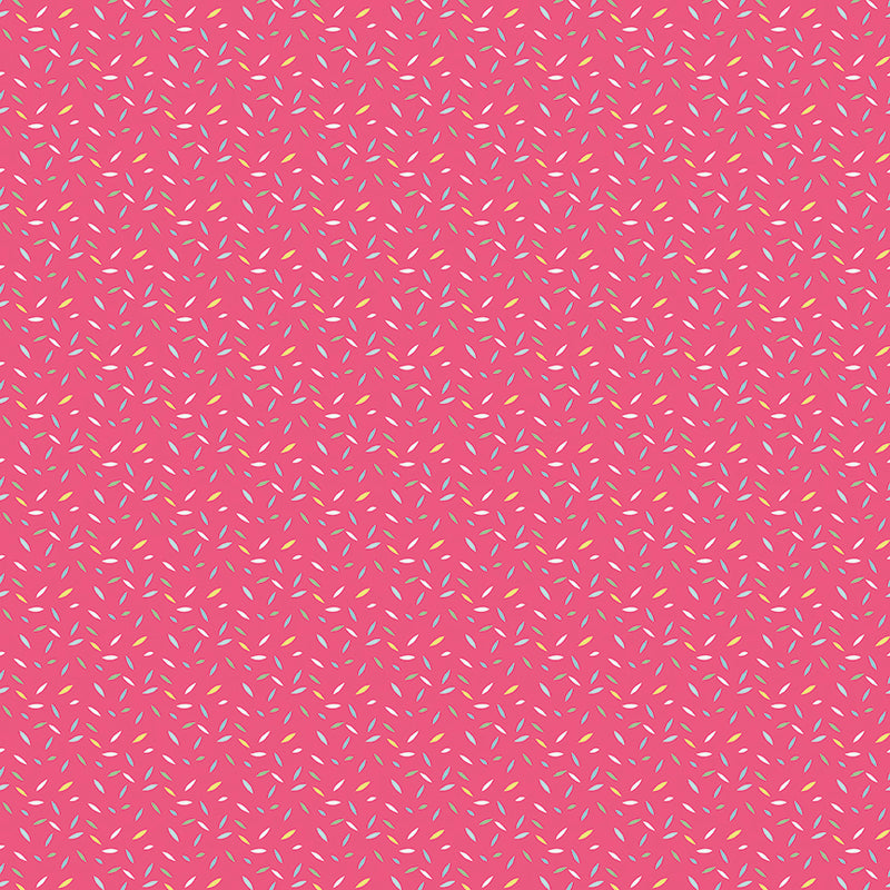 Pink Sprinkles Fabric