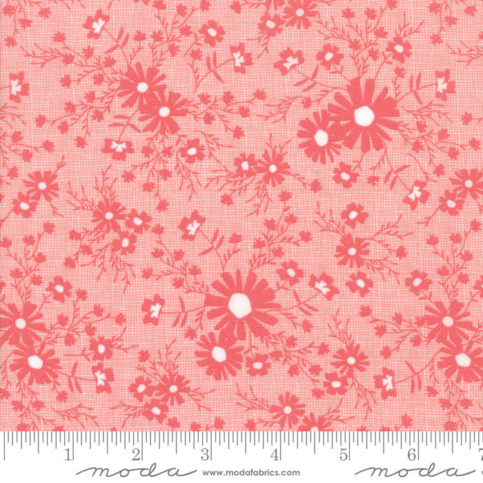 Pink Floral Meadow Fabric from Sunnyside Up Collection at Cherry Creek Fabric