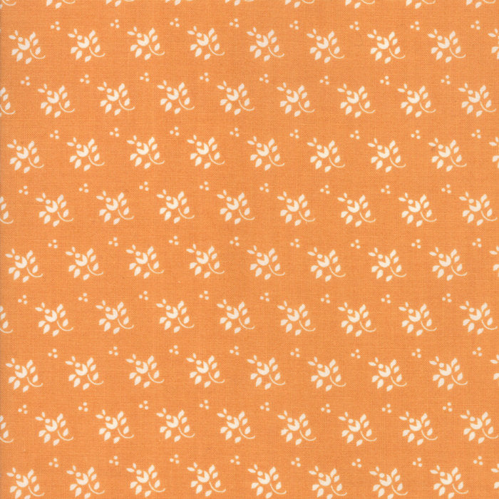Orange Feedsack Fabric from Farmhouse II Collection at Cherry Creek Fabric