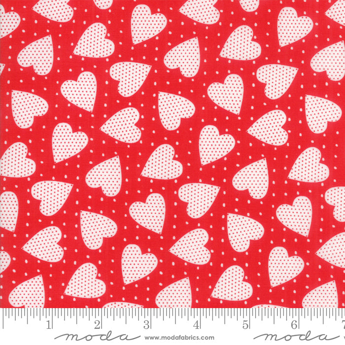 Red Heart Felt Fabric from REDiculously Red Collection at Cherry Creek Fabric