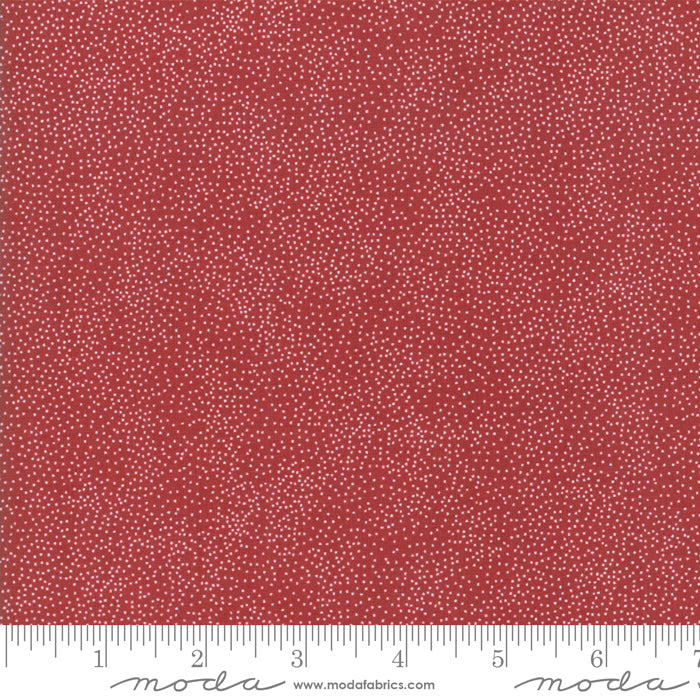 Merry Starts Here by Sweetwater | Red Starry Night Fabric