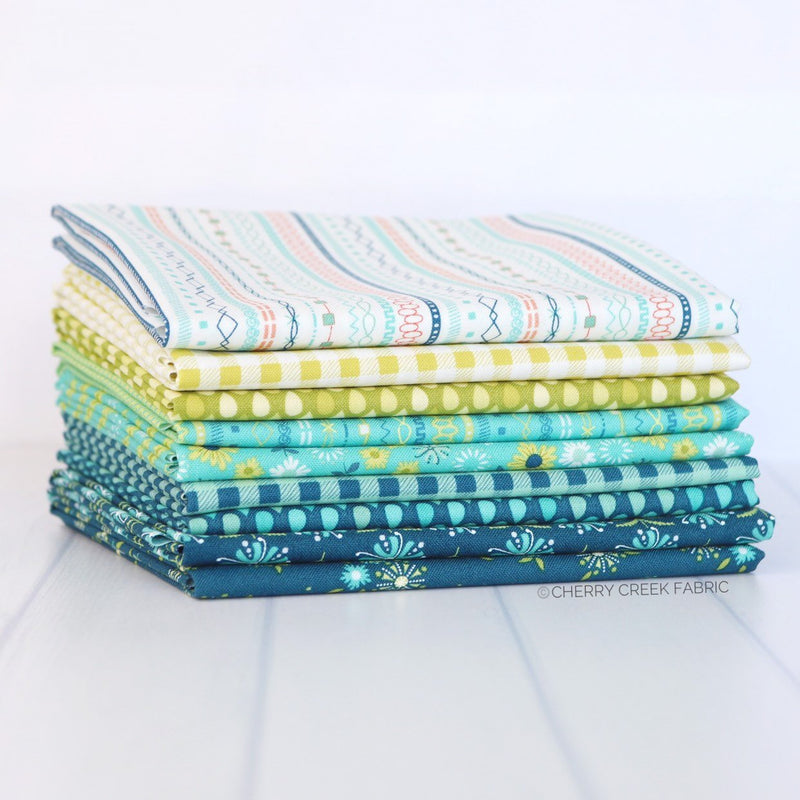 Well Said Fat Quarter Bundle from Well Said Collection at Cherry Creek Fabric