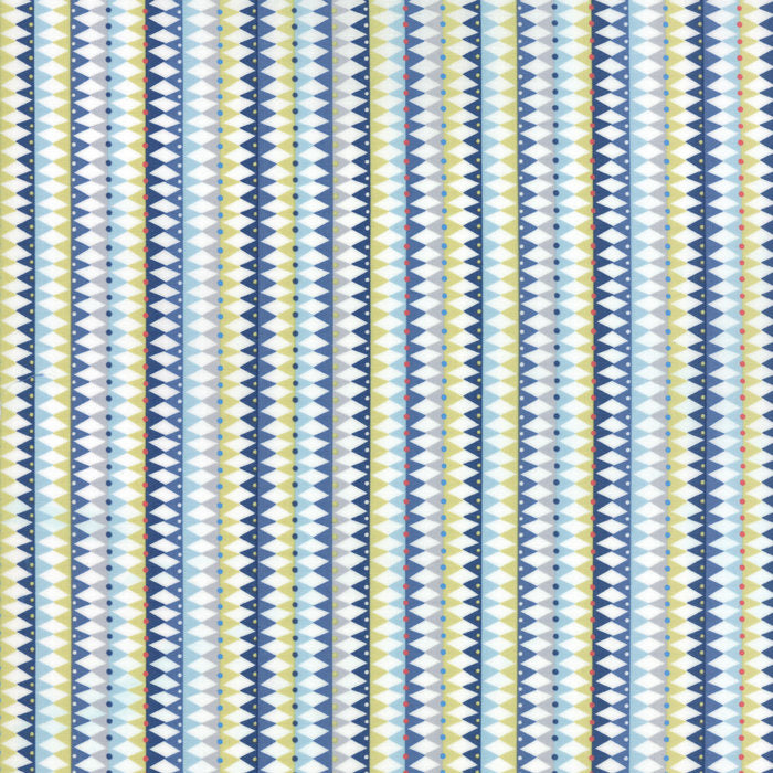 Galactic Stripes Aqua Fabric from Stellar Baby Collection at Cherry Creek Fabric