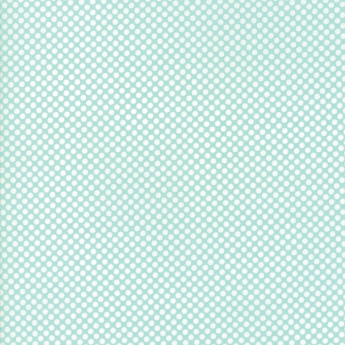 Aqua Winter Berries Flannel Fabric