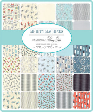 Mighty Machines Fat Quarter Bundle from Mighty Machines Collection at Cherry Creek Fabric