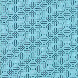 Blue Floral Lattice Fabric from The Front Porch Collection at Cherry Creek Fabric