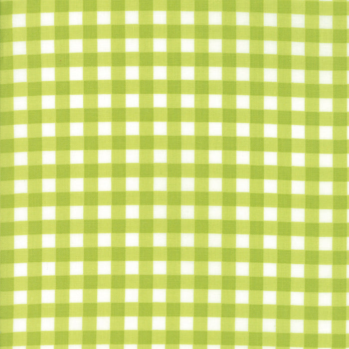 Green Christmas Plaid Fabric