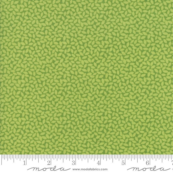 Orchard by April Rosenthal | Green Leaves Fabric