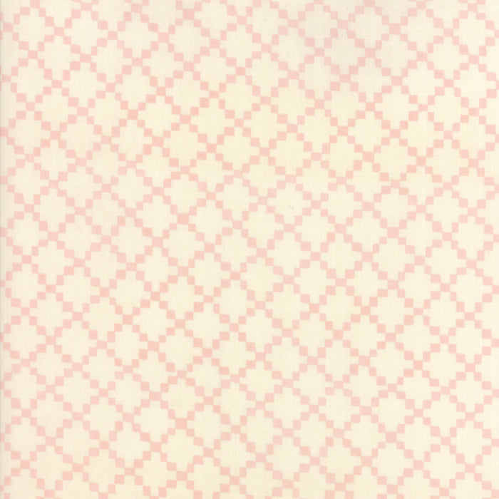 Pink Irish Chain Fabric from Freya & Friends Collection at Cherry Creek Fabric