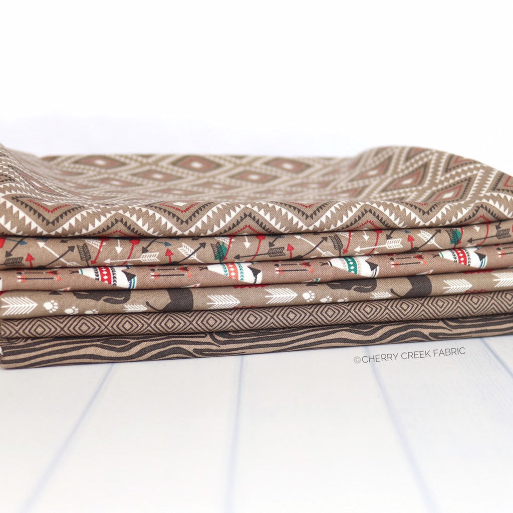 High Adventure 2 Brown One Yard Bundle
