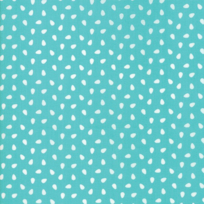 Turquoise Seeds Fabric from All Weather Friend Collection at Cherry Creek Fabric