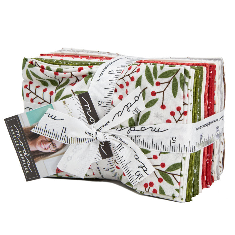 Merriment Fat Eighth Bundle - Gingiber Designs - Moda Fabric - Fabric Bundle - Moda Fat Eighth Bundle - 23 pieces from Cherry Creek Fabric & Crafts Collection at Cherry Creek Fabric