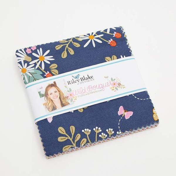 Wild Bouquet Charm Pack from Wild Bouquet Collection at Cherry Creek Fabric