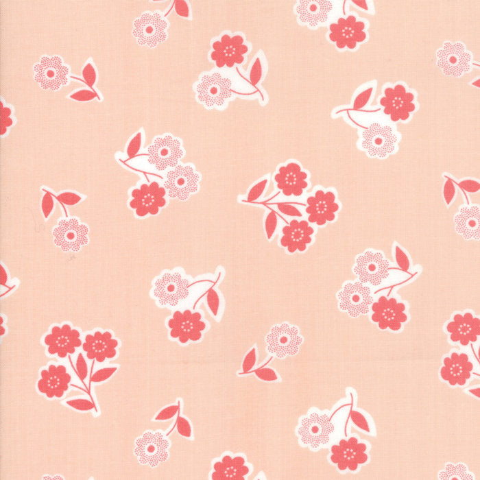 Pink Handpicked Bouquet Fabric