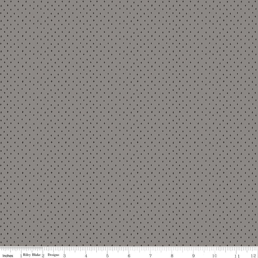 Gray Diamonds Fabric