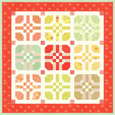 Mini Hopscotch Quilt Pattern from Fig Tree Quilts Collection at Cherry Creek Fabric